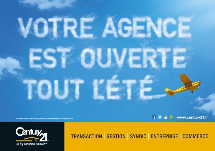 Votre agence century 21 sens reste ouverte tout l 39 t for Tout les agence immobiliere